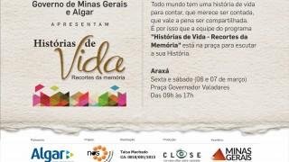 Projeto de produtora de Uberlândia chega a Araxá para ouvir depoimentos