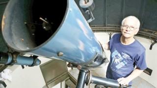 Roberto Silvestre faz do Cidade Jardim um observatório estelar