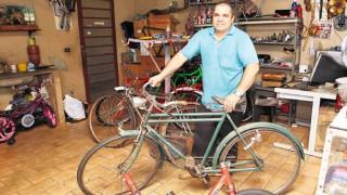 Bicicletas ganham restauração nas mãos de Melissandro
