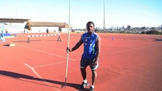 Esporte impulsiona tricampeão brasileiro de arremesso de dardo