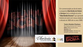 NA MÍDIA: Série especial sobre a história do teatro é exibida gratuitamente ao público hoje (26)
