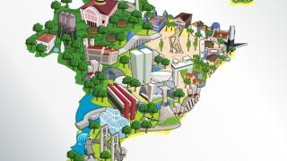 O interior do Brasil